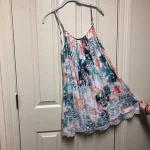 Lovers and friends floral swing dress